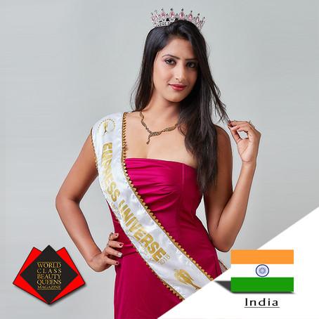 Davinder Sands Mrs Empress Universe International 1st Runner Up 2018