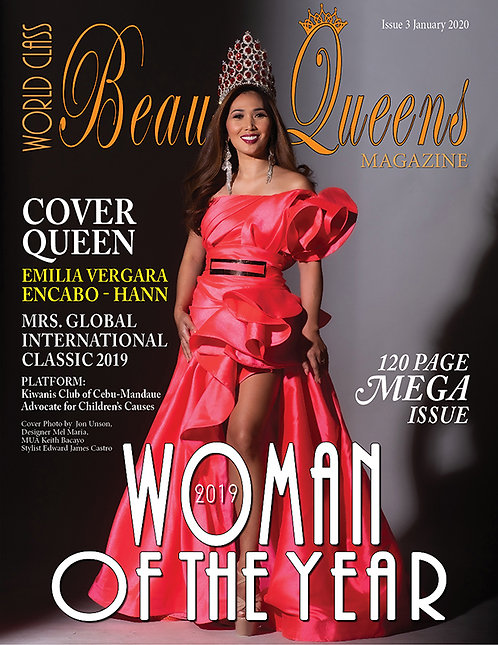 Issue 3, 2019 World Class Woman of the Year