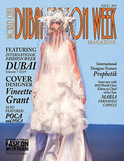 Issue 1 World Class Dubai Fashion Week Magazine