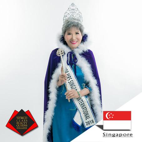 Teh Siew Peng Senior Mrs Singapore International 2018