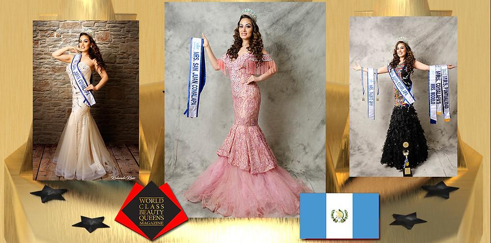 Gema Krishanda Rodas Torres Mrs. San Juan Comalapa 2019, World Class Beauty Queens Magazine, Photographer:Rolando Ruiz