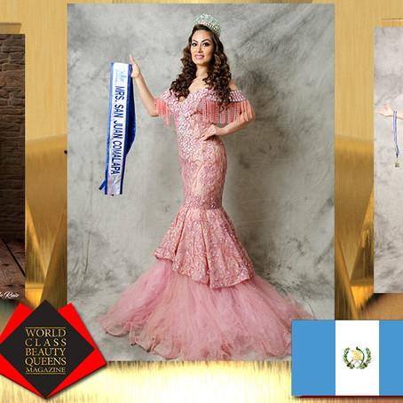 Gema Krishanda Rodas Torres Mrs. San Juan Comalapa 2019