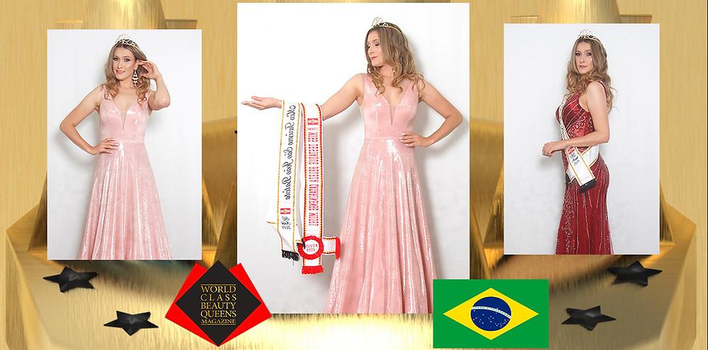 Cissa Behvian Miss Turismo São João Batista SC 2019, World Class Beauty Queens Magazine,