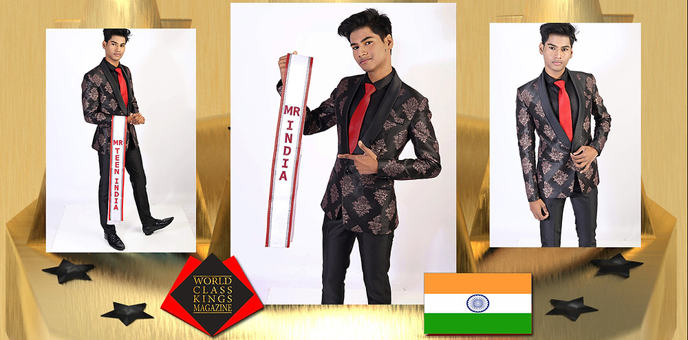 Mayank Srivastava Mr teen India United Nations 2021, World Class Kings Magazine,