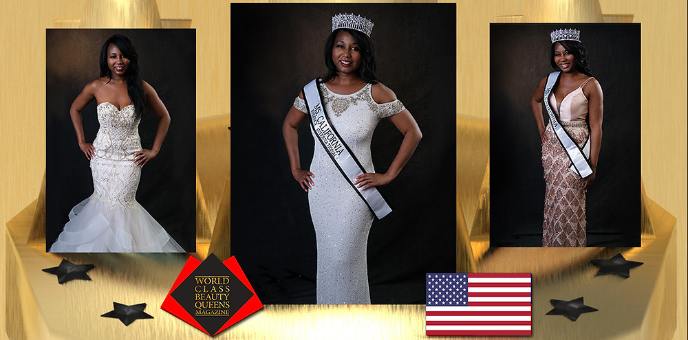 Aliya L. Frederick Ms. California Regency International 2019-2020, World Class Beauty Queens Magazine, Photographer: Bobby Chi Photography, Wardrobe: Noell, Los Angeles