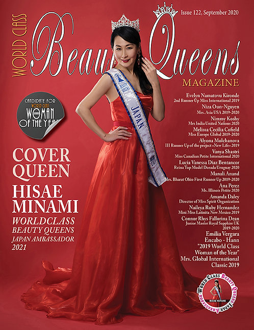 Issue 122 World Class Beauty Queens Magazine