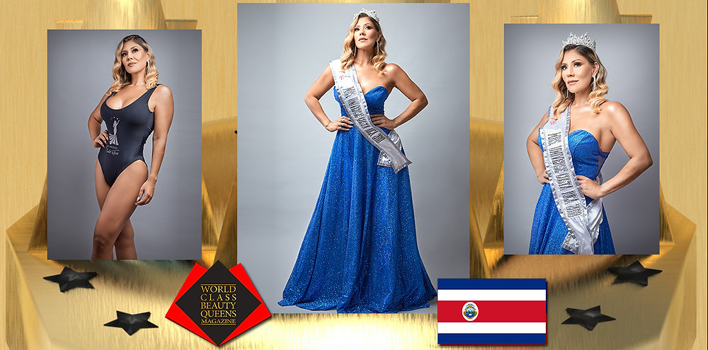 Ingrid Solis Mrs. Universe Costa Rica 2018, World Class Beauty Queens Magazine, Photo by Oso Hormiguero Fotografía