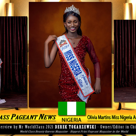Olivia Martins Miss Nigeria America Nation 2021