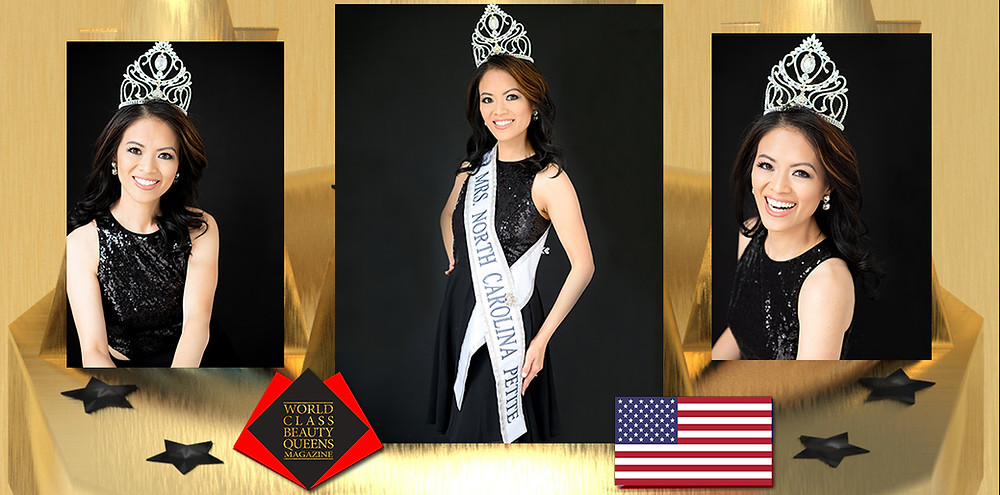 Nancy Nguyen Liles Mrs. North Carolina Petite 2020, World Class Beauty Queens Magazine, Photos by Pink Owl Photography