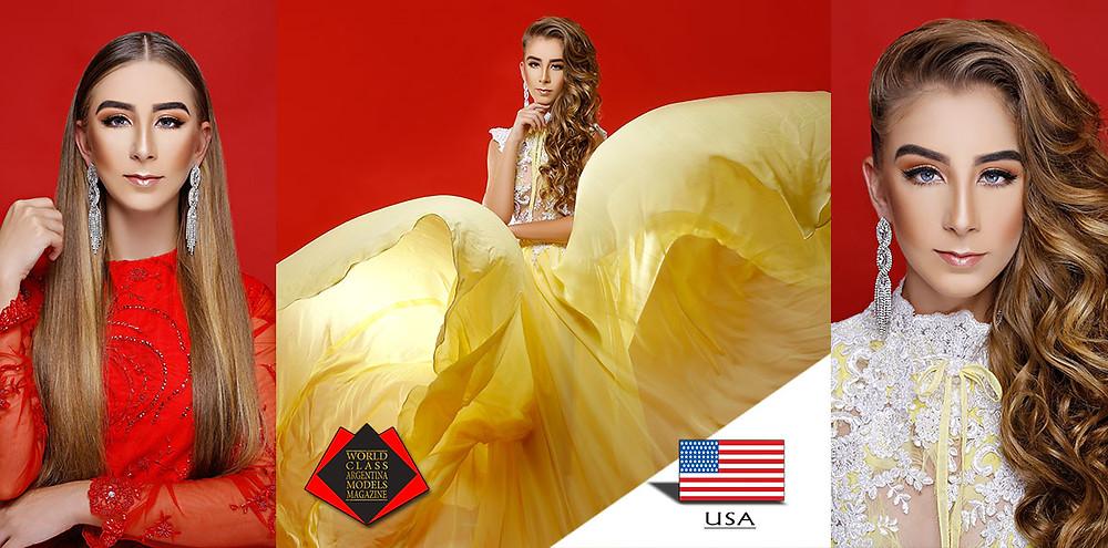 Eloise Cole, Miss World Class Teen USA 2018, World Class Argentina Models Magazine,