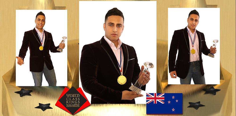 Romeo Yusupov Mr World Of Winners 2020, World Class Kings Magazine
