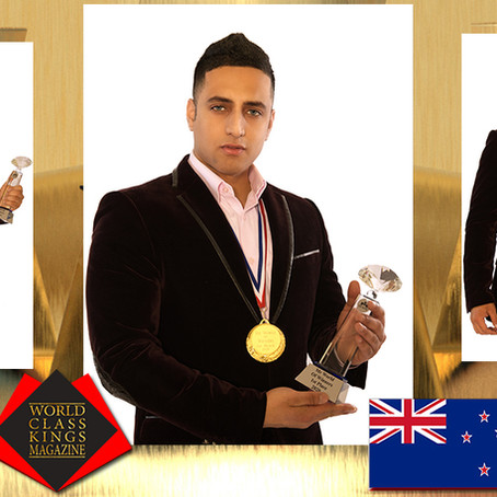 Romeo Yusupov Mr World Of Winners 2020