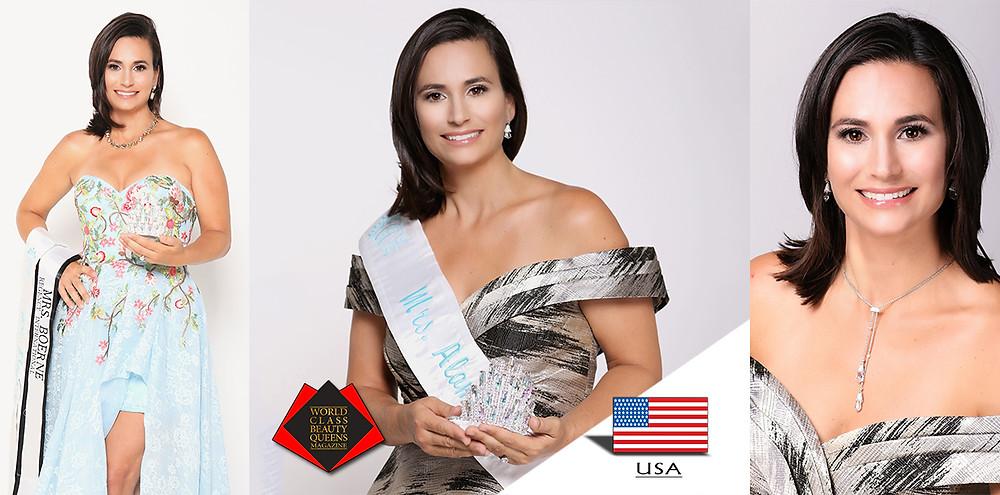 Jennifer Overpeck Mrs. Alamo City 2019, World Class Beauty Queens Magazine,