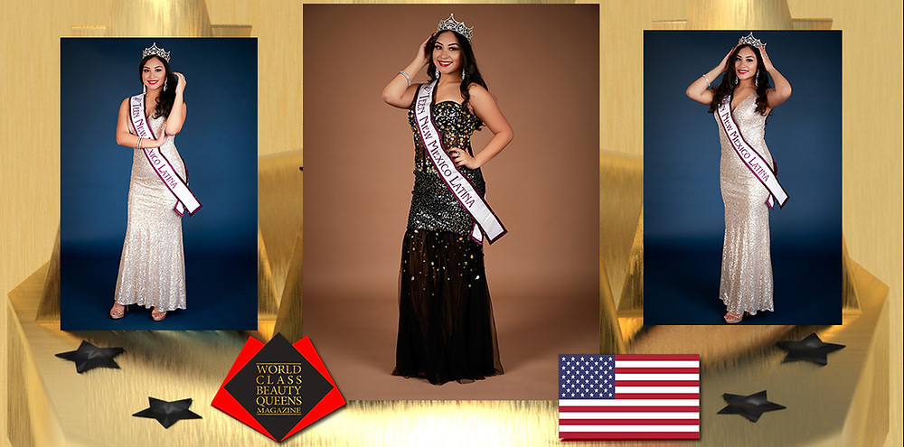 Jennifer Dallana Felix Avelino Miss Teen New Mexico Latina 2019, World Class Beauty Queens Magazine,
