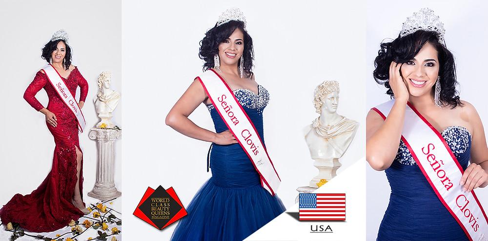 Judith Andana Señora Clovis 2019, World Class Beauty Queens Magazine,