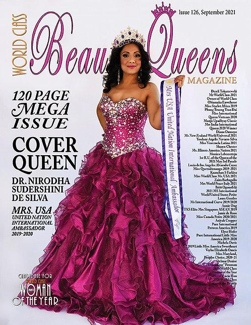 Issue 126 World Class Beauty Queens Magazine