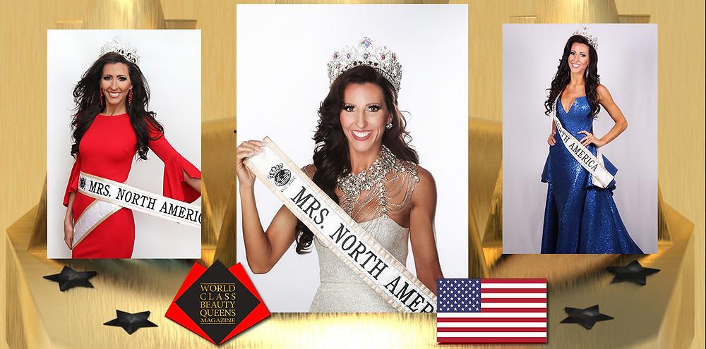 Carrie Yarnall Mrs. North America Globe 2019, World Class Beauty Queens Magazine