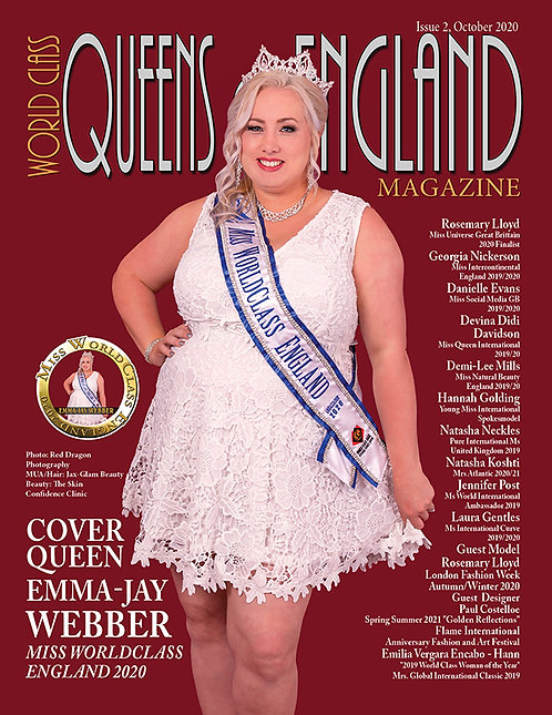 Issue 2 World Class Queens of England Magazine