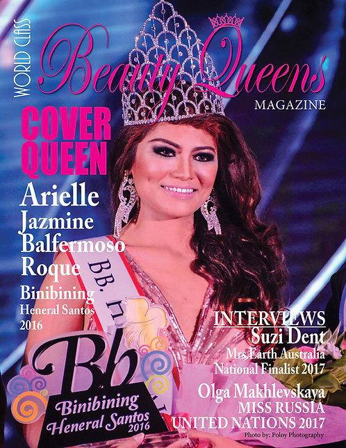 Issue 9 World Class Beauty Queens Magazine