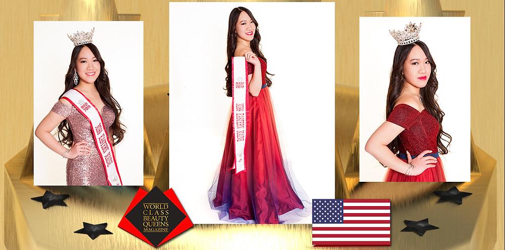 Deixi Yuen Yue Wu Lee Miss Eastern Maine 2019, World Class Beauty Queens Magazine,