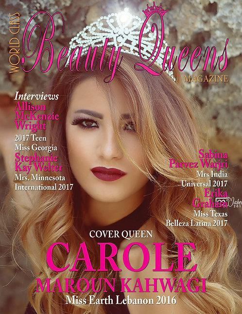 Issue 31 World Class Beauty Queens Magazine