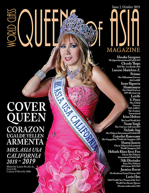 Issue 2 World Class Queens of Asia Magazine