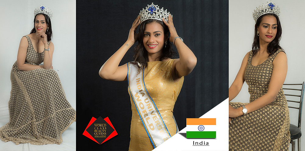 Shuchi Mrs India Universe World 2018, World Class Beauty Queens Magazine,  Photos by Ravi Sharma Make up by Sandeep Kumar