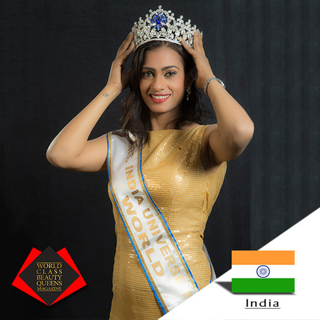 Shuchi Mrs India Universe World 2018