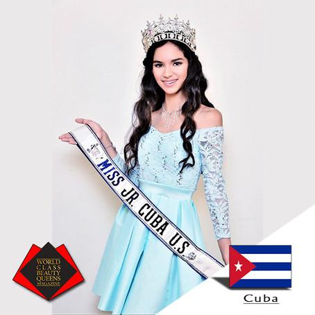 Jasmine Liz Martinez Miss Jr. Cuba U.S. 2019