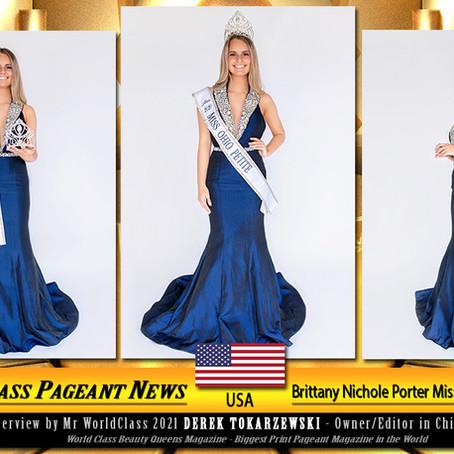 Brittany Nichole Porter Miss Ohio Petite 2020
