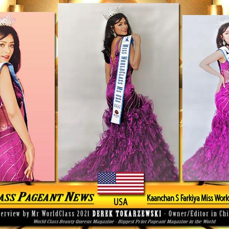 Trauma Survivors – Recovery is Possible Kaanchan S Farkiya Miss WorldClass Ms. USA 2021