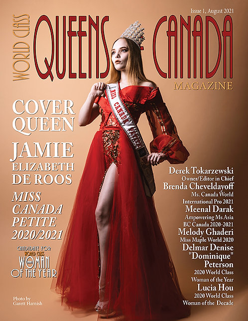 Issue 1 World Class Queens of Canada Magazine