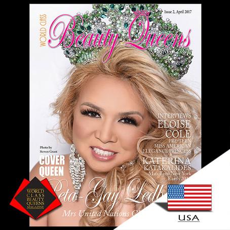 Peta-Gay Ledbetter Mrs United Nations Globe 2016