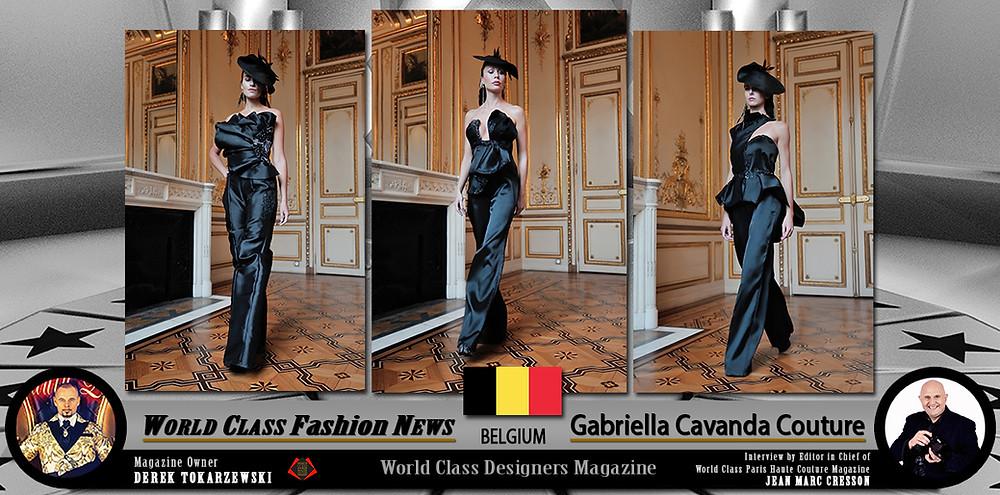 Gabriella Cavanda Couture, World Class Designers Magazine, Photo by Jean Marc Cresson,