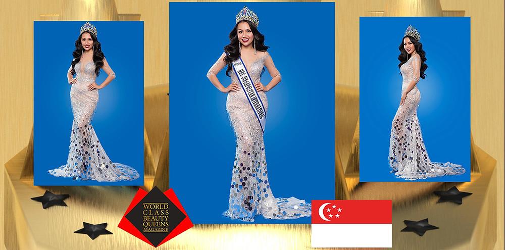Nguyen Vu Xuan Hong Mrs Singapolitan International 2019/2020, World Class Beauty Queens Magazine,