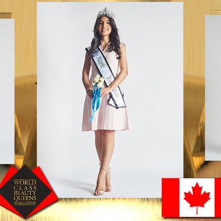 Melody Ghaderi Miss Maple World 2020