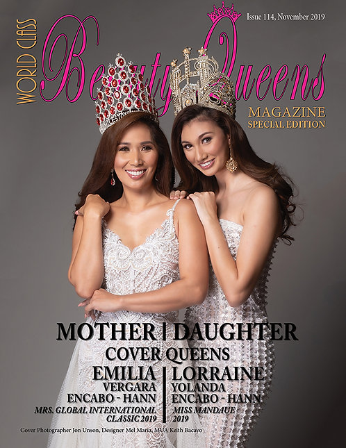 Issue 114 World Class Beauty Queens Magazine