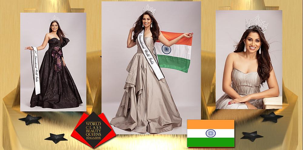 Dr. Akshata Prabhu Ms. International World India 2019-2020, World Class Beauty Queens Magazine,