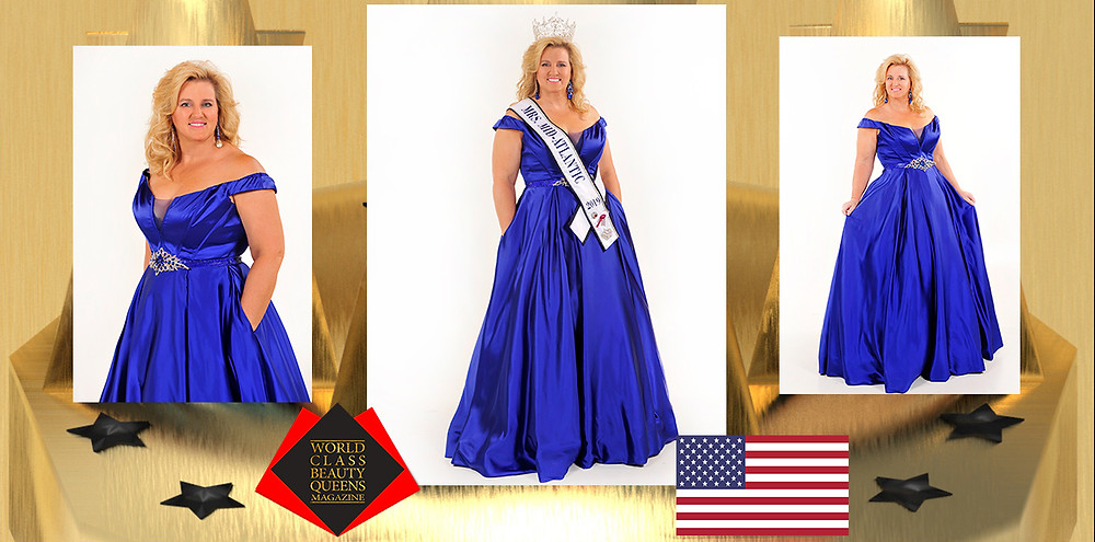 Barbara A Komondor Mrs. Mid-Atlantic All-Star United States 2019, World Class Beauty Queens Magazine