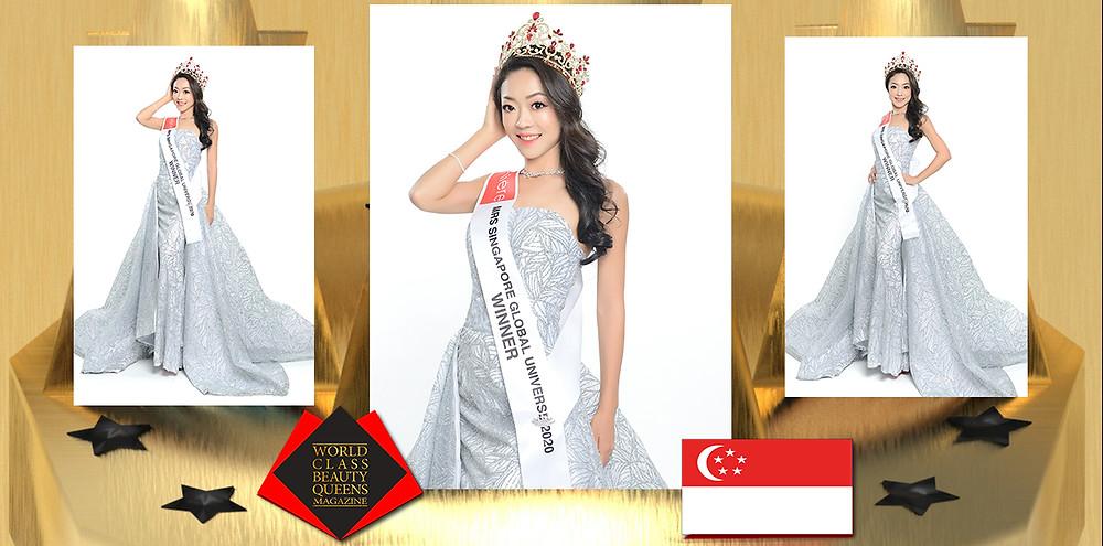 Emi Cheong Mrs Singapore Global Universe 2020 Winner, World Class Beauty Queens Magazine