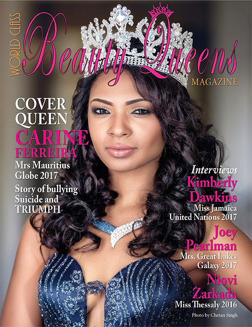 Issue 26 World Class Beauty Queens Magazine