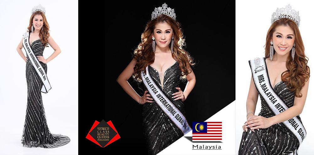 Nichole Ang Mrs Malaysia International Global 2019, World Class Beauty Queens Magazine,