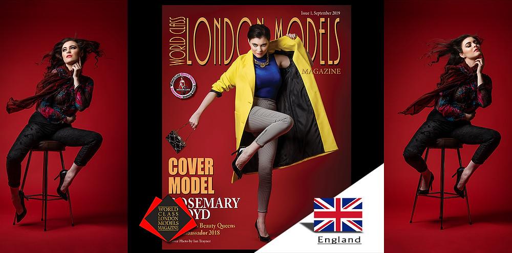 Rosemary Lloyd, World Class London Models Magazine, Photographer: Ian trayner Circle of Life Photography, Hair and Makeup: Tamana Beauty