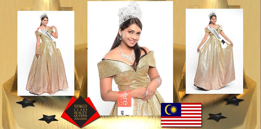 Khomahla Waney Mrs Asia Worldwide 2019/2020, World Class Beauty Queens Magazine