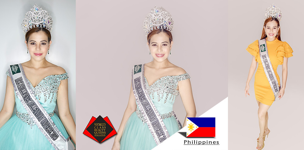 Carla Krizzle Dimaano Mrs. Philippines Millennium Universe 2019, World Class Beauty Queens Magazine, Photo by Grenda Palattao of G-shots Photobooth