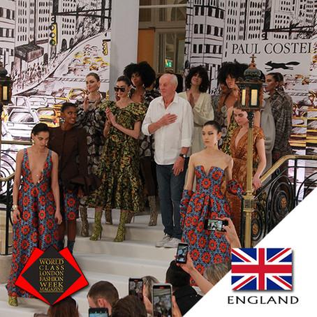 Paul Costelloe, London Fashion Week Autumn/Winter 2020