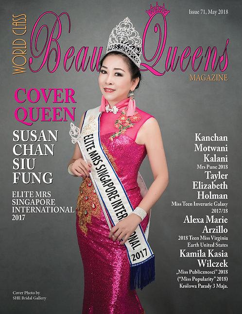 Issue 71 World Class Beauty Queens Magazine