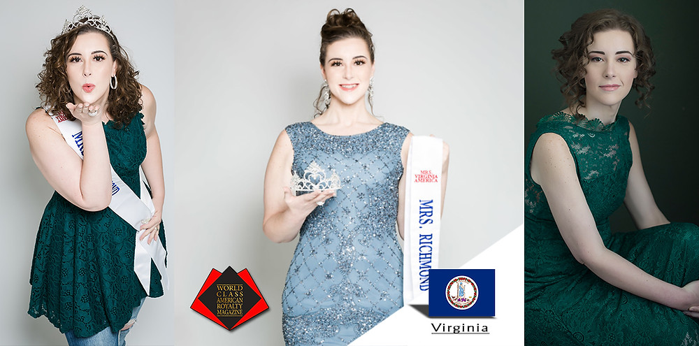 Melissa Hetzler Burton, Mrs Richmond VA 2019, World Class American Royalty Magazine