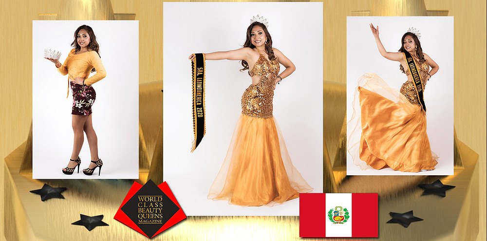 Silvia Alexandra Vera Rojas Mrs Latino America 2020, World Class Beauty Queens Magazine, Photo by Paulo Rosas Contreras, Hair style: Jose Luis Cusi, Make Up: Alfredo Vizcarra, Dress: Graciela's dresses
