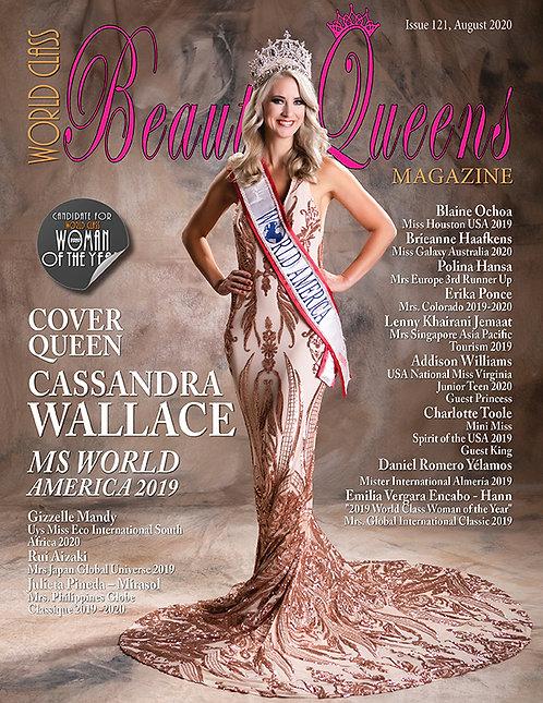 Issue 121 World Class Beauty Queens Magazine